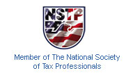 Member of The National Society of Tax Professionals