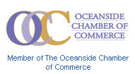 Member of The Oceanside Chamber of Commerce